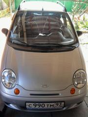 Срочно продам Daewoo Matiz 2010г