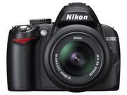 Nikon D3000 Kit 18-55 VR + объектив Helios-44M 2/5