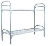 Кровать металлическая,  кровать для рабочих,  одноярусная кровать