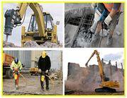 Снос,  слом,  разбор,  построек,  домов,  заборов,  гаражей,  фундамента