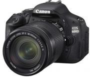 Продам Фотоаппарат Canon EOS 600D kit 18-135 мм IS с гарантией
