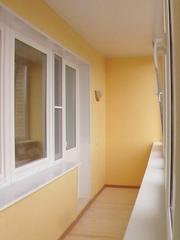 Балконы,  лоджии. Отделка