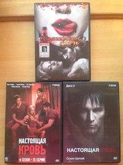 продам бу DVD диски с сериалом Настоящая кровь 1-4 сезоны