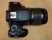 Продам профессиональный фотоаппарат Canon 600d kit18-55