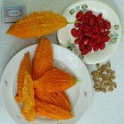 Семена момордики широко используется в ланшафтном дезайне и на дачах