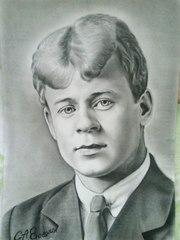 портрет С Есенина