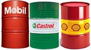Mobil Shell Castrol в бочках