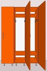 Шкафы для раздевалок