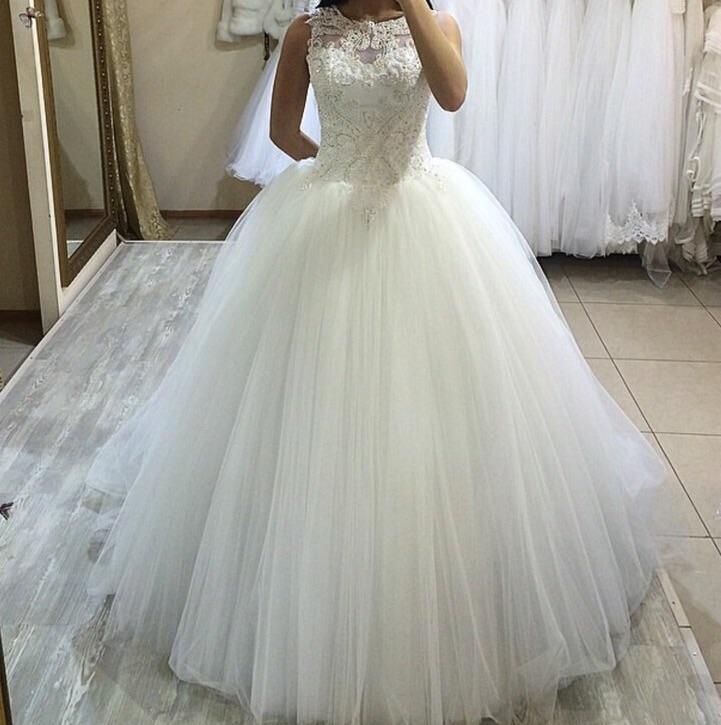 свадебное платье от Оксаны в