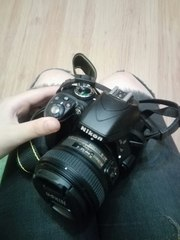 Nikon D3300+ Af-s Nikkor 50mm f/1.8G(объектив)