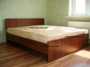 Двуспальные кровати с матрасом новые