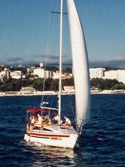 Яхт аренда для прогулки или рыбалки в открытом море в Сочи