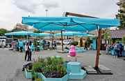 Зонт для кафе,  для пляжа