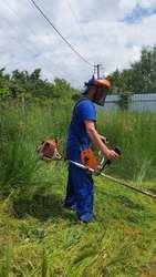 Покос травы,  Краснодар