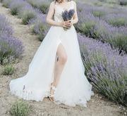 Продам Свадебное платье Strekoza (салон Мэри Трюфель),  б/у Краснодар